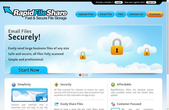 Rapid File Share