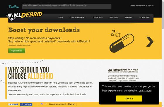 All Debrid Premium Key – Premium Accounts and Free Lifetime Logins